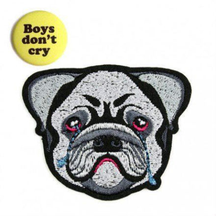 "MACON & LESQUOY ""Bulldog"" iron on patch ワッペン"