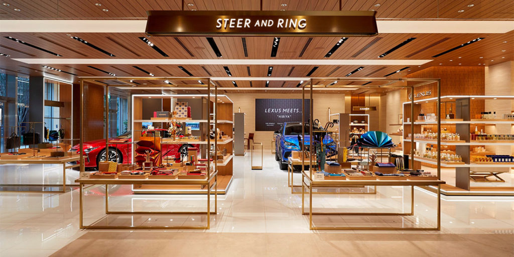 STEER AND RING の店内の写真