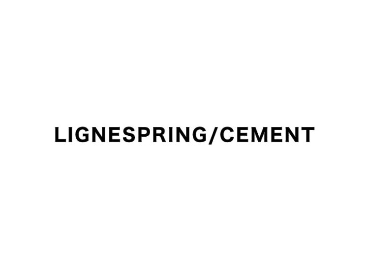 LIGNESPRING CEMENT SHOWROOM 2021AW Exhibition 開催情報